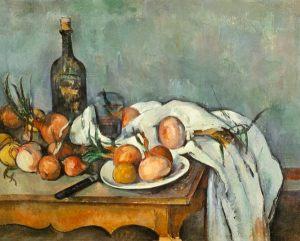 """Paul Cézanne, """"Natura mort amb cebes"""" (1896-1898). Musée d'Orsay, Paris"""