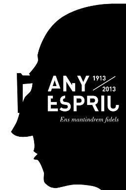 El logo de l'Any Espriu