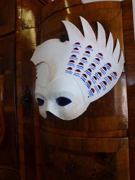 Una màscara per a mi, feta per Montse Curtiada. Fot. Frèia Berg, 2013