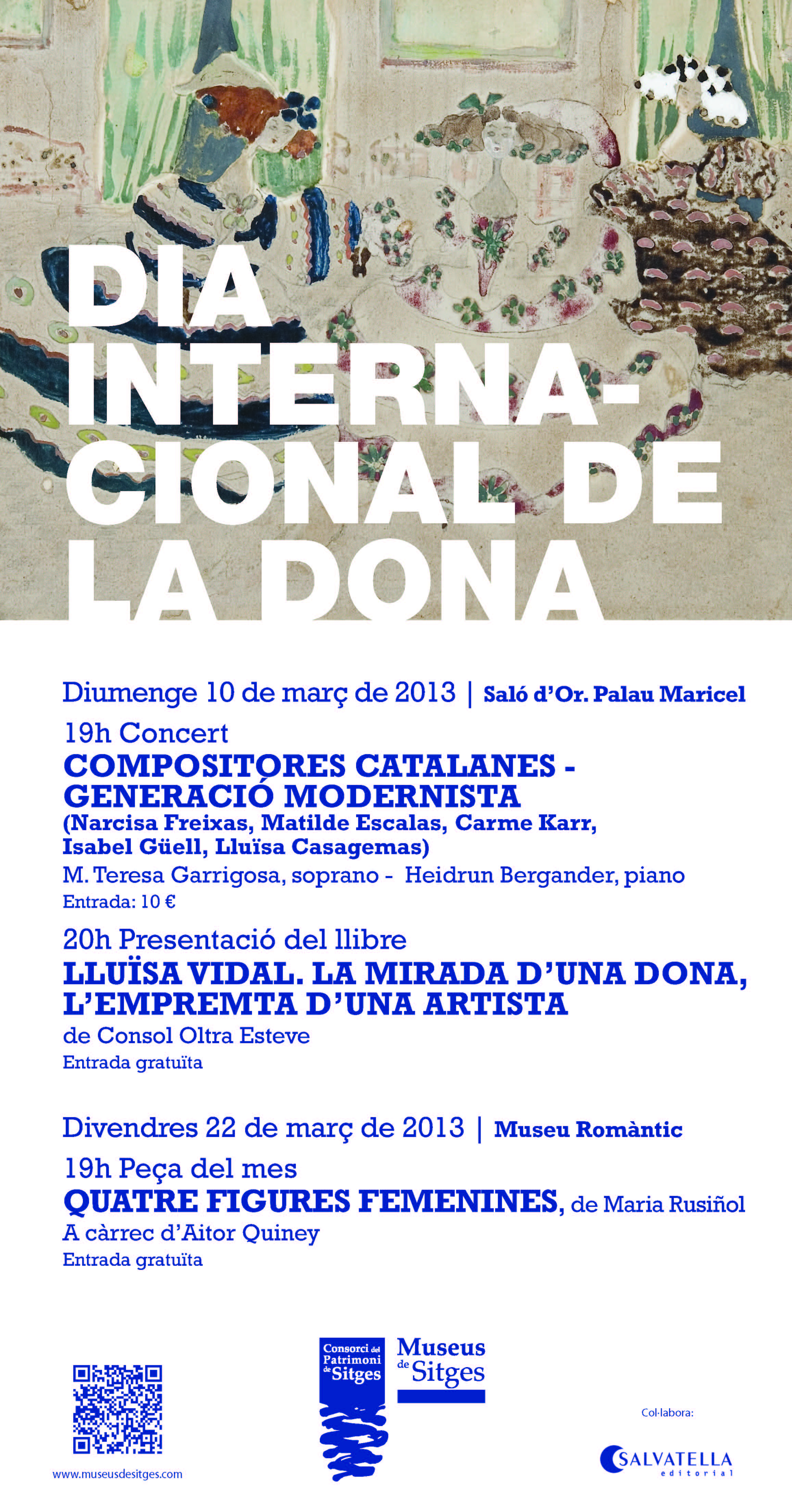 Dia Internacional de la Dona Museus de Sitges