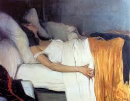Santiago Rusiñol, La morfina (1894), Museu del Cau Ferrat