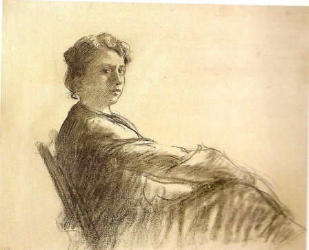 Lluïsa Vidal, Autoretrat