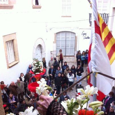 Les Caramelles de Dilluns de Pasqua, al Palau del Rei Moro (2013). Fot. Joan Duran