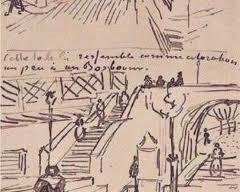 Vincent Van Gogh, Dibuix preparatori.