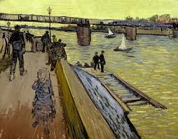 Vincent Van Gogh, Le Pont de Trinquetaille (juin 1888), Col.lecció particular