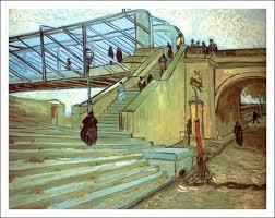 """Vincent Van Gogh, """"Pont de Trinquetaille"""" (octobre 1888), Col.lecció particular, New York"""
