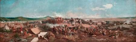 Marià Fortuny, La batalla de Tetuan, 1862-1864. MNAC