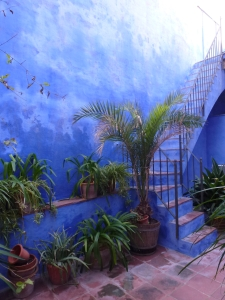 El pati blau, carrer Àngel Vidal (2013). Fot. Frèia Berg