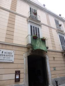 Façana principal del Museu Romàntic Can Llopis (1793)