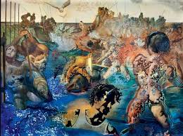 Salvador Dalí, La pesca de la tonyina (1966-1967). Fundació Paul Ricard, Bandol (França)