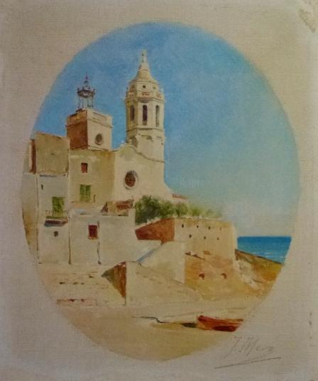 Joaquim de Miró, La Punta de Sitges, ca. 1895, Museu del Cau Ferrat, Sitges