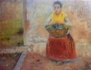 Arcadi Mas i Fondevila. La pubilleta (c. 1893). Museu del Cau Ferrat.