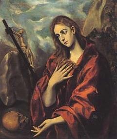 Domenico Theotocopoulos, El Greco. La Magdalena penitent (1587-1596). Museu del Cau Ferrat.