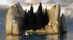 """Arnold Böcklin, """"L'illa dels morts"""" (1868)"""