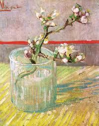 """Van Gogh, """"Branca d'ametller florit en un vas"""", (1888), Van Gogh Museum"""