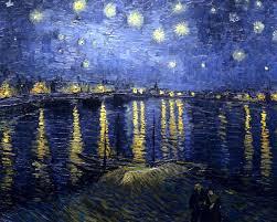 Vincent van Gogh, Nit estelada sobre el Roina (1888), Musée d'Orsay, Paris