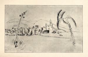 Joaquim Sunyer, Sitges (1913)