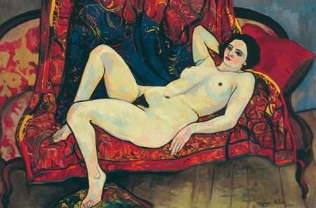 """Suzanne Valadon, """"Nu del canapè"""" (1920). Musée du Petit Palais, Genève"""