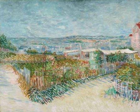 Vincent Van Gogh, Rere el  Moulin de la Galette, 1887, © Van Gogh Museum Amsterdam (Vincent van Gogh Foundation)