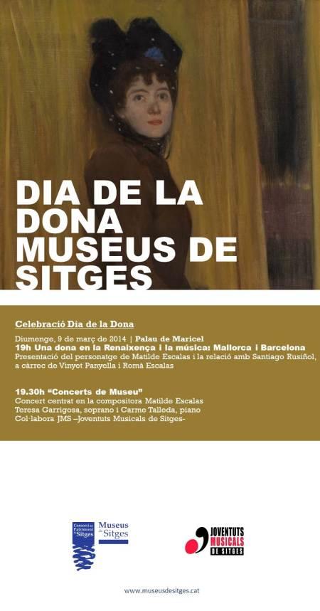 ACTIVITATS DIA DE LA DONA-MUSEUS DE SITGES