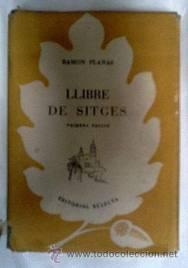 Ramon Planes, Llibre de Sitges (1952)