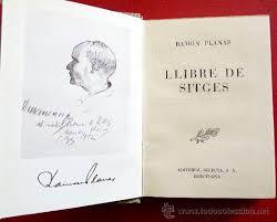 La primera edició del Llibre de Sitges anava acompanyada d'un perfil de Ramon Planes per Durancamps