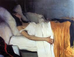 """Santiago Rusiñol, """"La morfina"""" (1894), Museu del Cau Ferrat"""