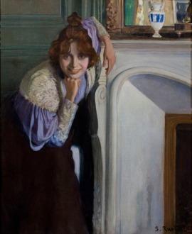 """Santiago Rusiñol, """"La riallera"""" (1894), MNAC"""
