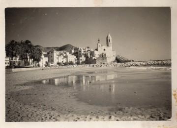 Sitges, anys cinquanta
