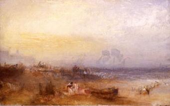 William Turner, La mattina dopo il naufragio (1835)