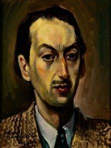 Pedro Flores, Retrat de César González Ruano (1942)